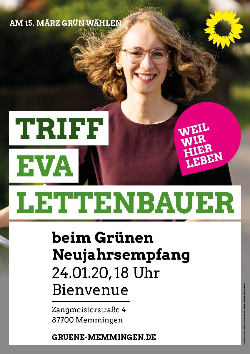 Neujahrsempfang mit Eva Lettenbauer