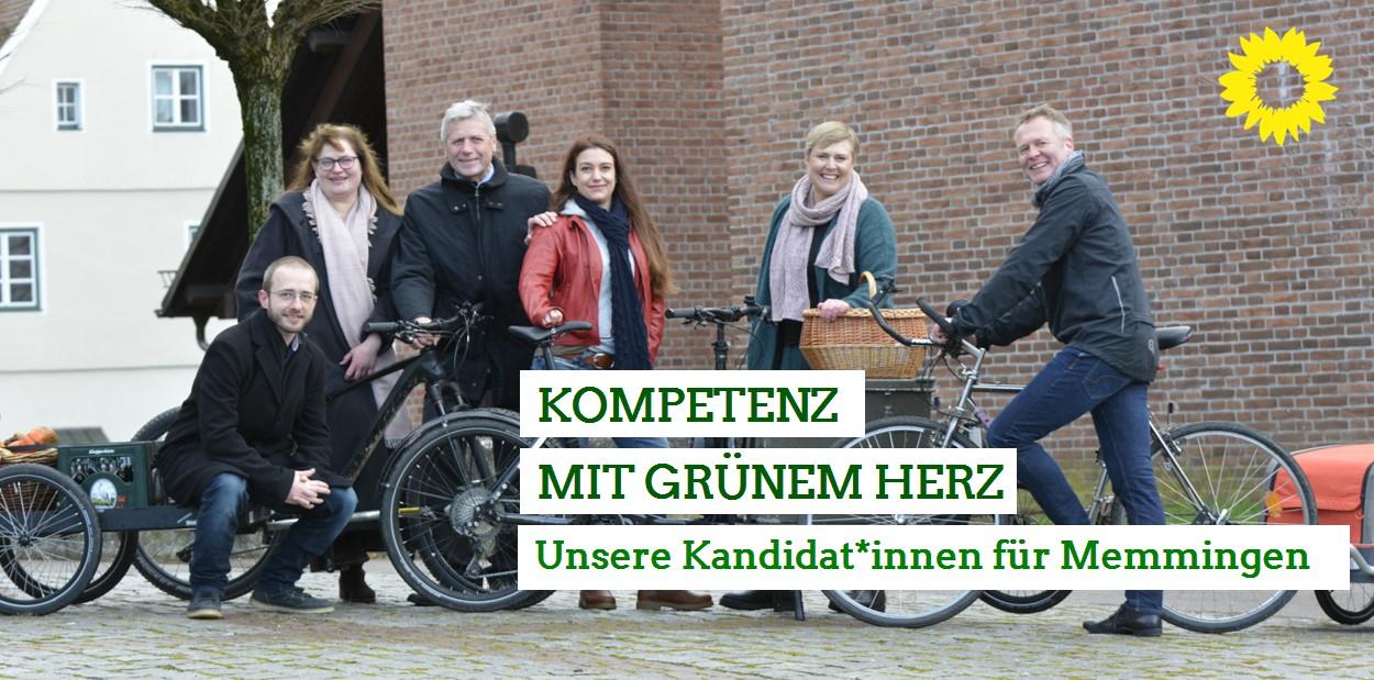 Unsere Kandidat*innen für den Stadtrat Memmingen