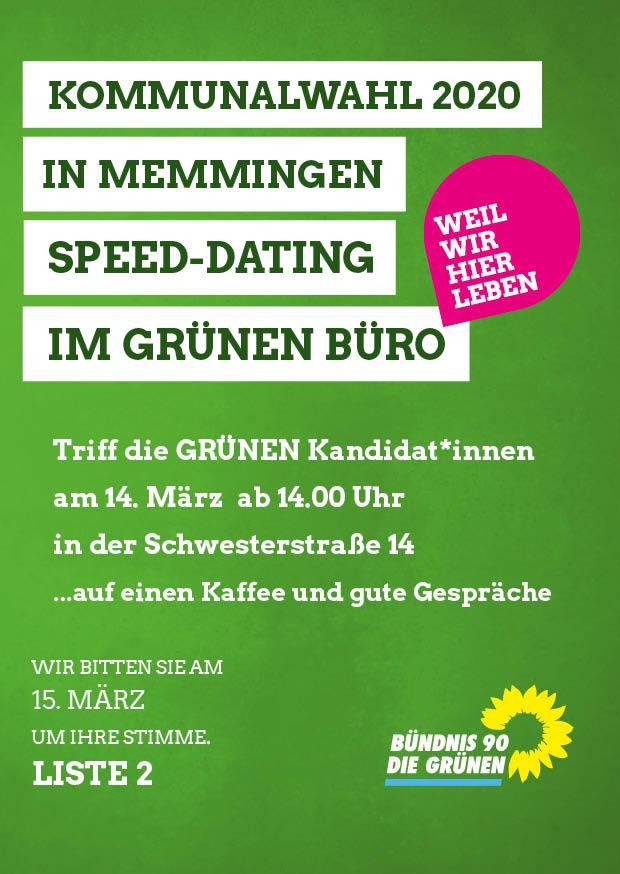GRÜNES SPEED-DATING