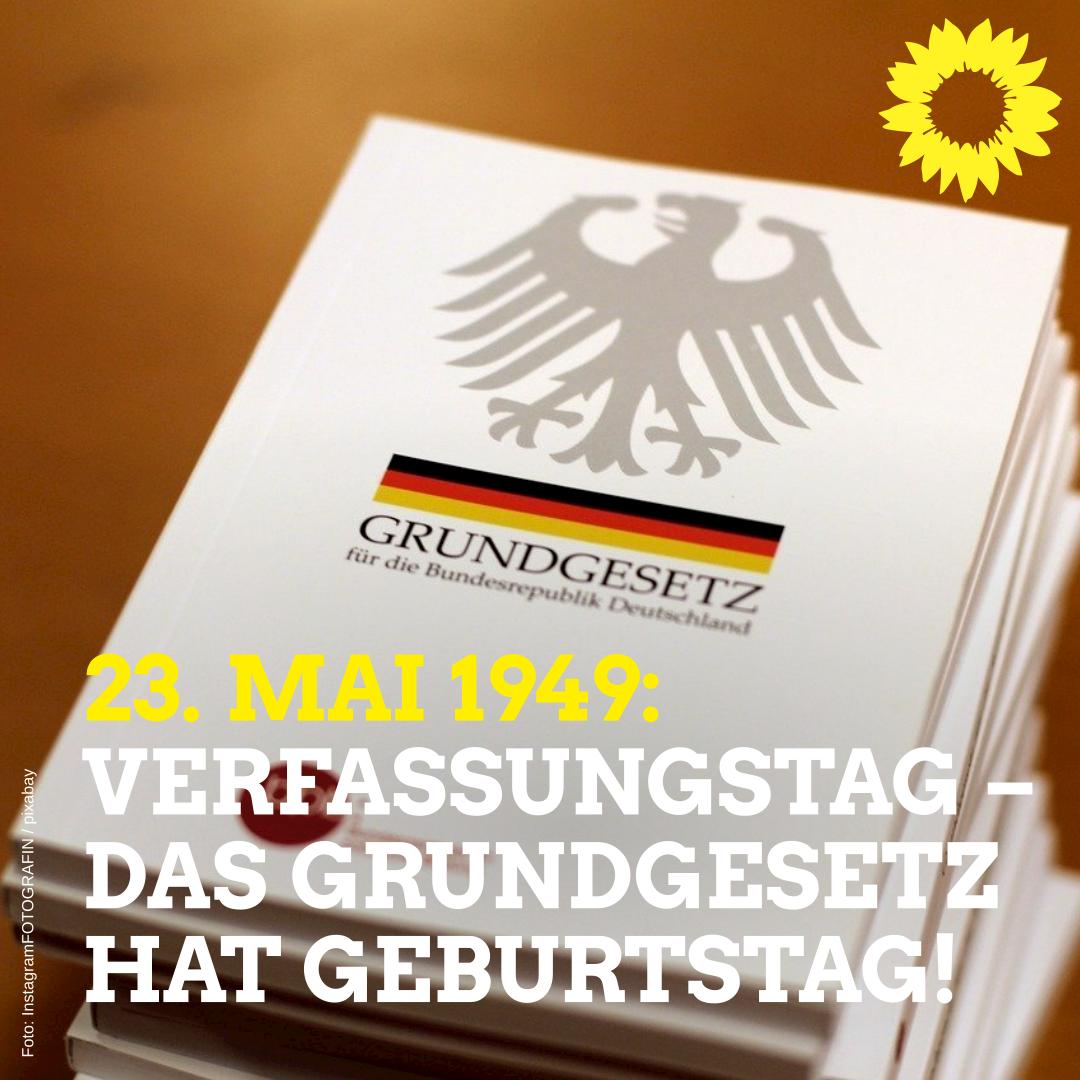 Verfassungstag – Das Grundgesetz hat Geburtstag!