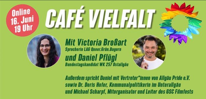 Café Vielfalt – digitale Podiumsdiskussion