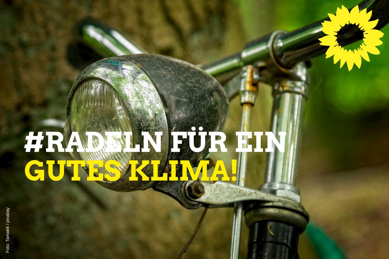 #Radeln für ein gutes Klima!