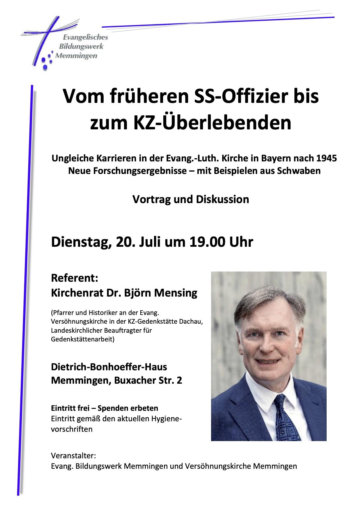 #Gedenktag des deutschen Wiederstandes Am 20 Juli um 19:00 Uhr im Dietrich-Bonhoeffer-Haus