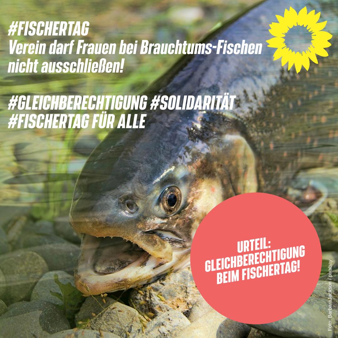 #FISCHERTAG FÜR ALLE #SOLIDARITÄT #GLEICHBERECHTIGUNG