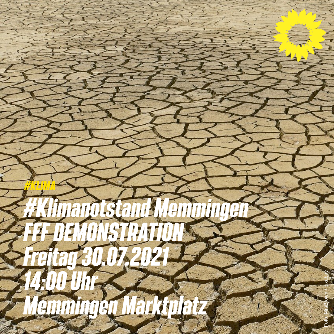 "#KLIMA ""Klimanotstand Memmingen"""