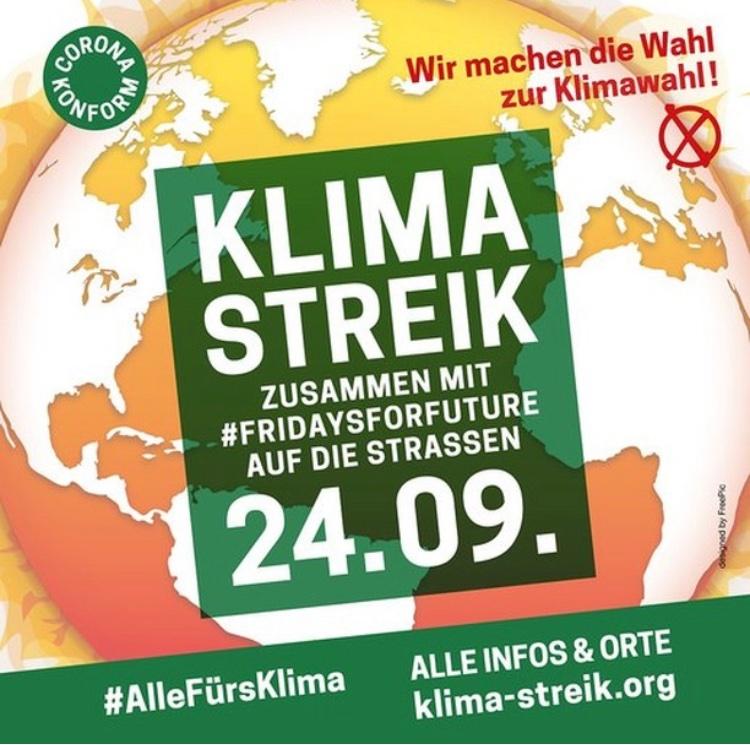 Heuteist globaler Klimastreik