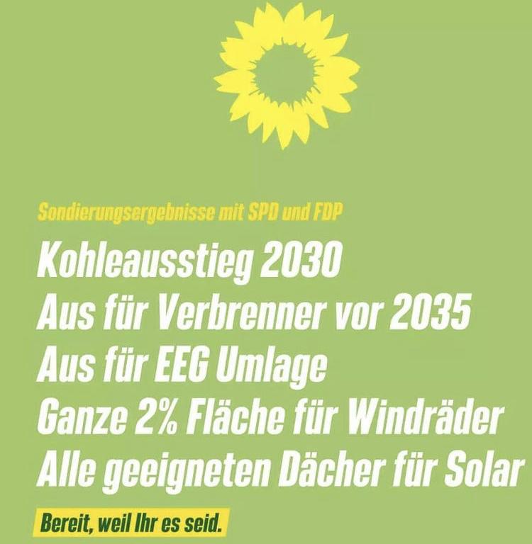 #Sondierungsergebnisse mit SPD und FDP
