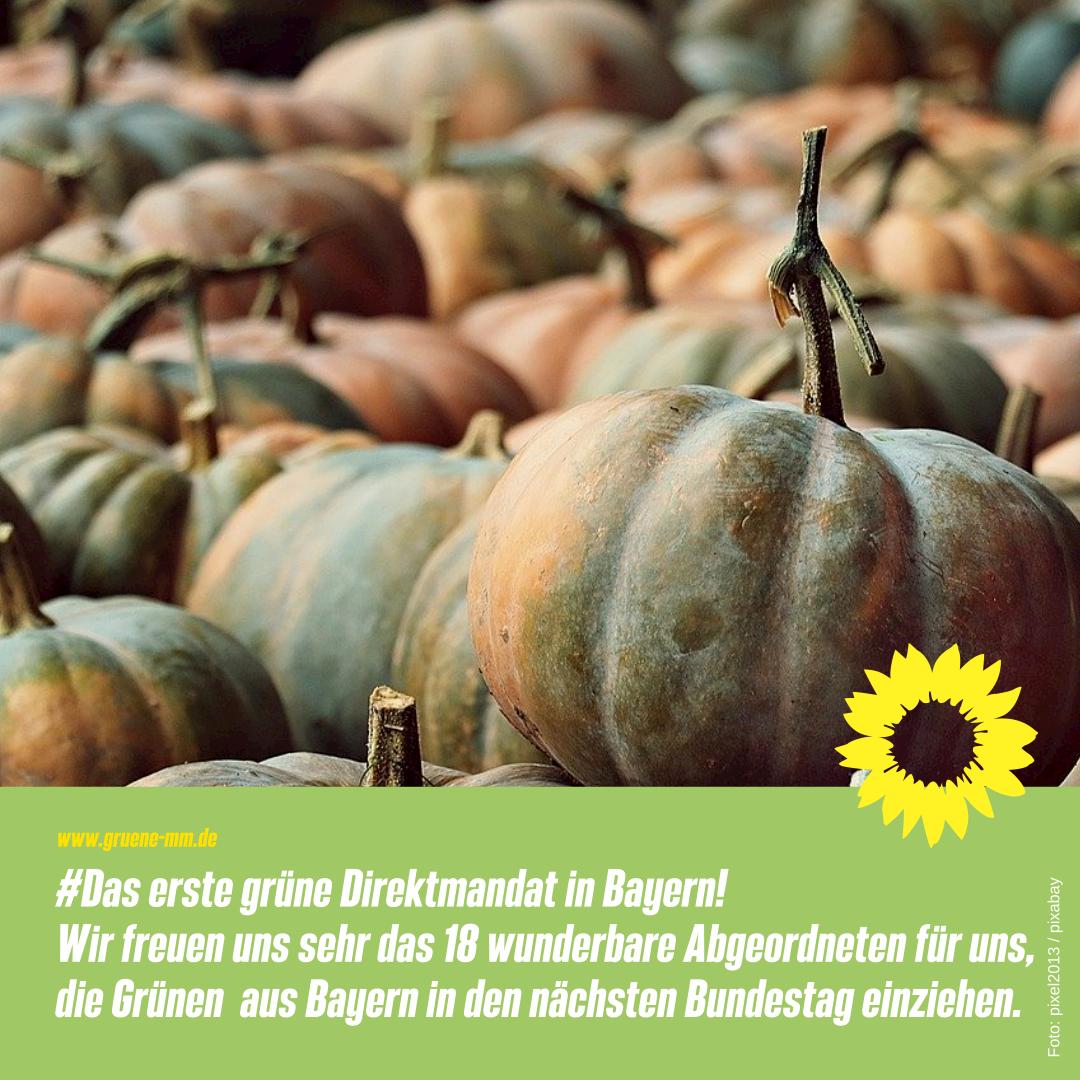 #Das erste grüne Direktmandat in Bayern!